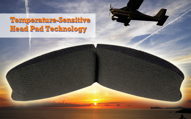 Temperature sensitive headpad technology