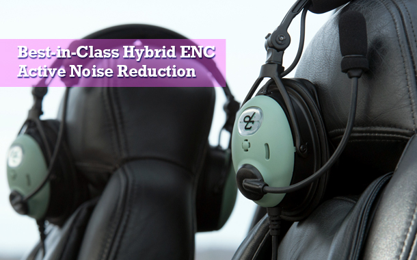 Best in class Hybrid ENC Active Noise Reduction